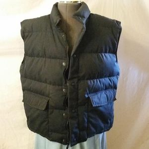 Cabela's puffer style vest, sherpa lined